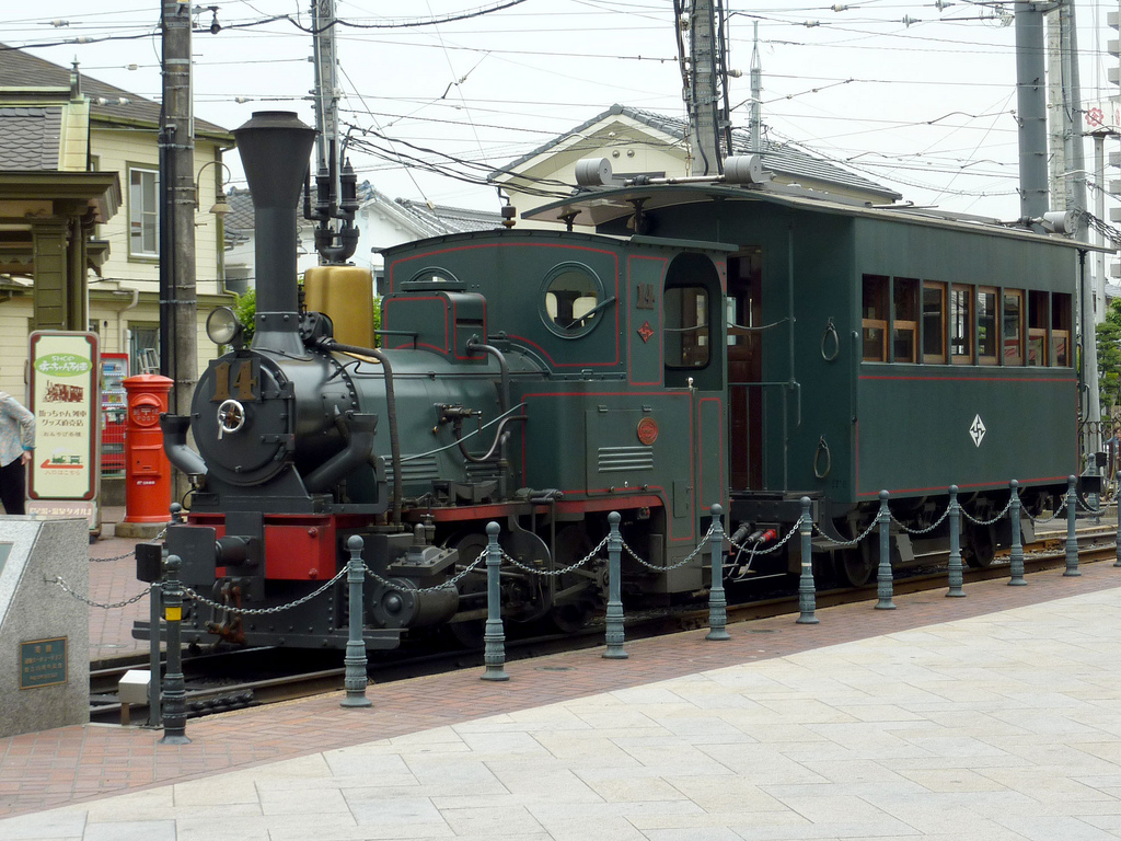 photo credit: 坊ちゃん列車@道後温泉駅 via photopin (license)