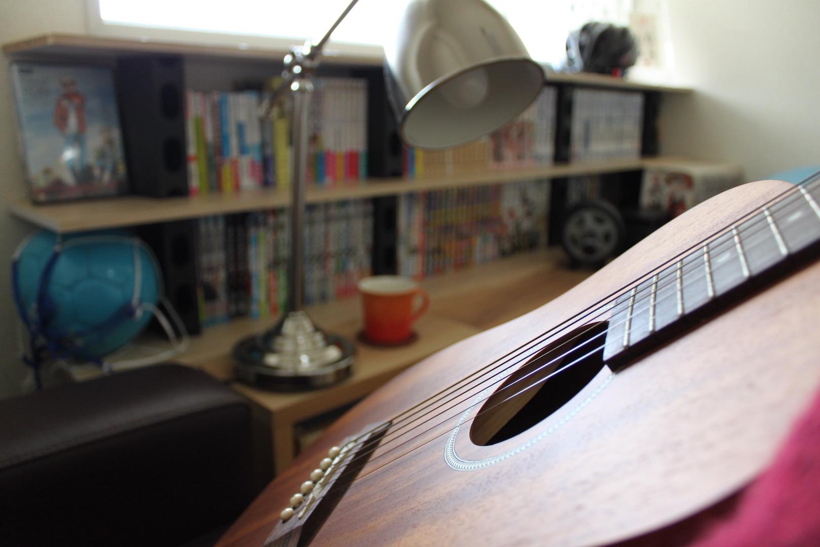 趣味部屋After:ギター