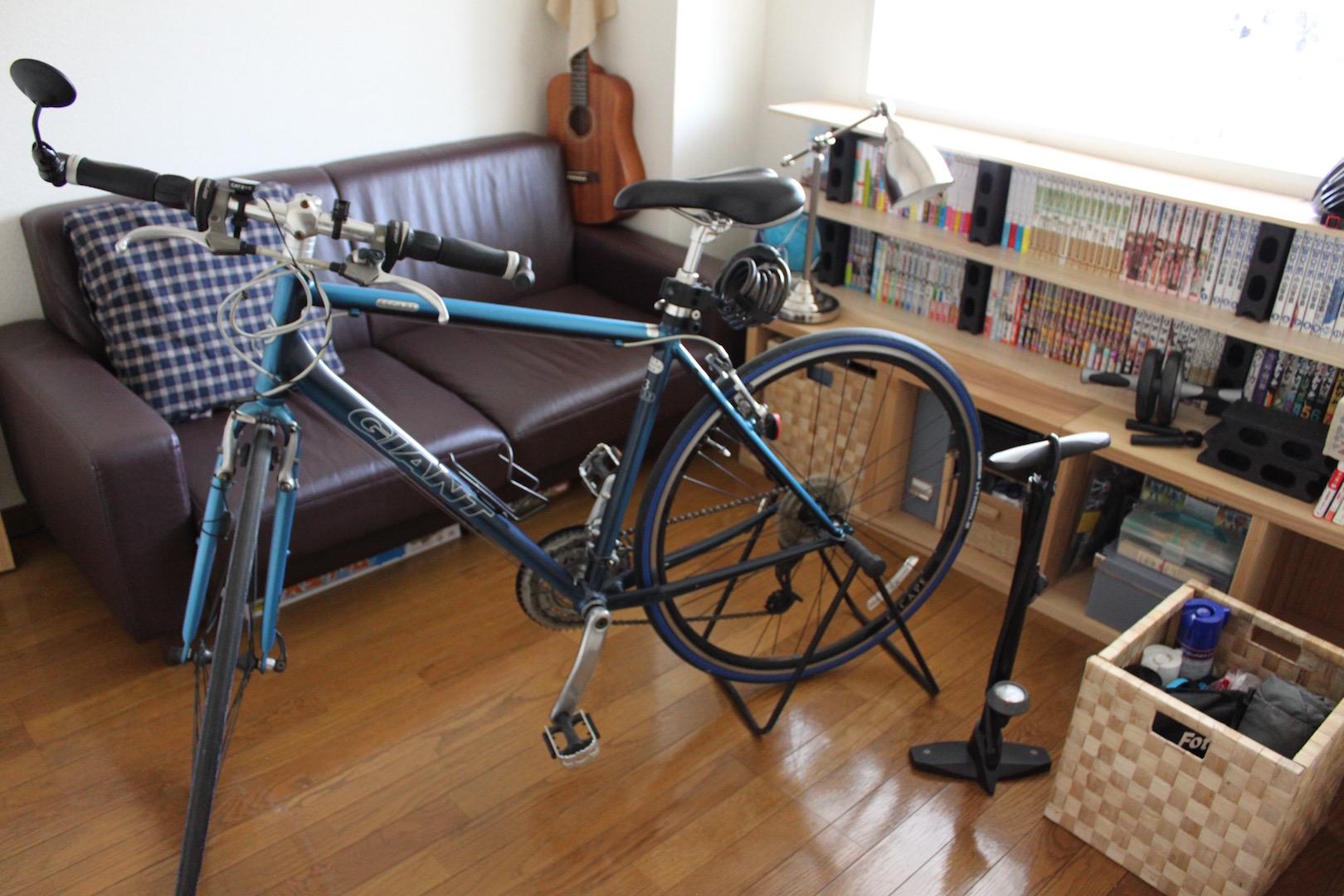 趣味部屋After:自転車整備